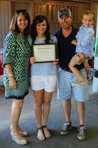 Scholarship Recipient Riley Austin