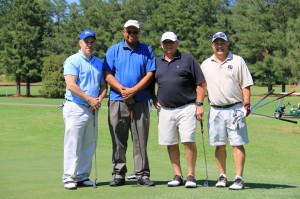 Eddie Jones, Reggie Hewett, Jerry Wiley & Ken DelCogliano