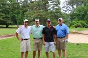 Andy Dempsey, Scott Brown, Doug Brooks & Morris Hinton