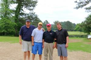 Carl Sherman, Danny Babb, Matt Clark & Jason Bethune
