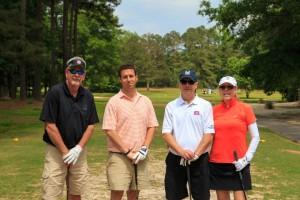 Paul Barnes, Chris Skinner, Bryan Crook & Donna Crook