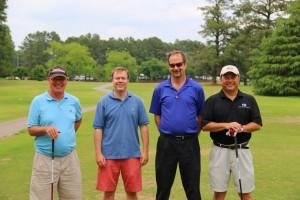 Jim Peck, Eddie Jones, Bill Pollack & Jay Midgley